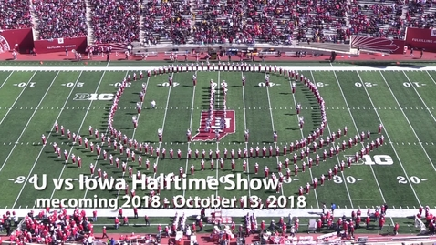 Thumbnail for entry 2018-10-13 vs Iowa - Halftime (Homecoming)