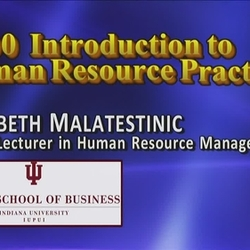 Thumbnail for channel Z200 Introduction to Human Resource Practices