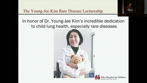 "Thumbnail for entry Peds_GrRds_3/15/2017: The Young Jee Kim Rare Disease Lectureship presents ""Movements"" Thomas W. Ferkol Jr., MD"