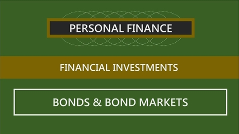Thumbnail for entry F152 12-3 Bonds & Bond Markets
