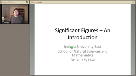 Thumbnail for entry Significant Figures - An Introduction