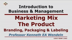 Thumbnail for entry X100_Lecture 16-Segment 3_Branding, Packaging & Labeling
