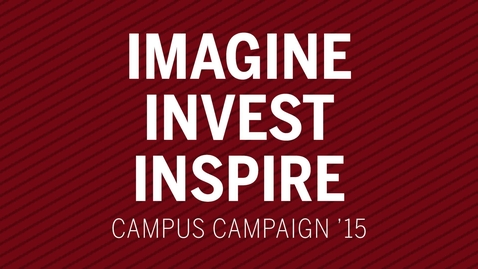 Thumbnail for entry Campus Campaign 2015