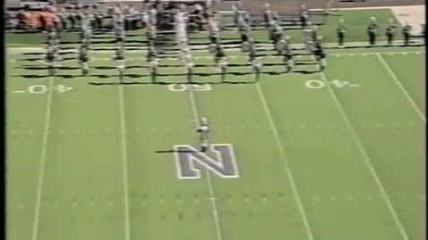 Thumbnail for entry 1993-10-23 at Northwestern - Pregame