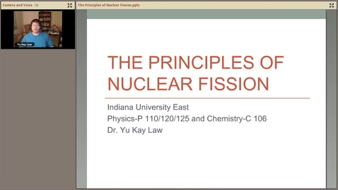 Thumbnail for entry The Principles of Nuclear Fission