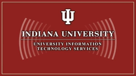 Thumbnail for entry Global Network Operations Center at Indiana University