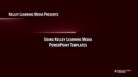 Thumbnail for entry Using the KSBMedia PPT Graphic Template