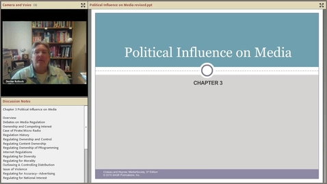 Thumbnail for entry Political Influence on Media