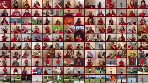 Thumbnail for entry Virtually Yours, The Marching Hundred Alumni Band