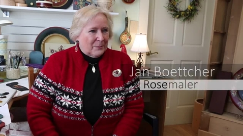 Thumbnail for entry Rosemaling with Jan Boettcher