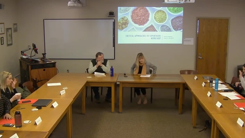 Thumbnail for entry 03/22/2019 - Critical Approaches to Superfoods Workshop