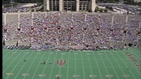Thumbnail for entry 1993-09-11 vs Northern Illinois - Halftime (Band Day)