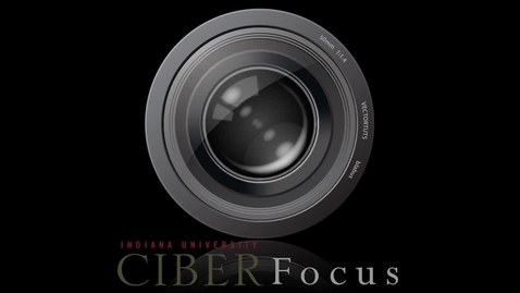"""Thumbnail for entry CIBER Focus: """"Kelley Latin America Conference"""" with Blas Gonzalez"""