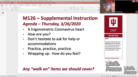 Thumbnail for entry SP20 M126 Supplemental Instruction Module 4 Session 2
