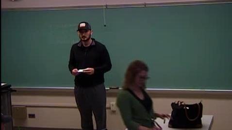 Thumbnail for entry Zach Hoard IR Speech