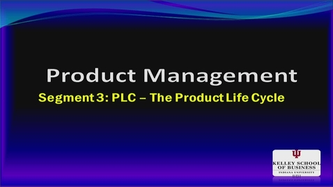 Thumbnail for entry M200 08-3 Product Life Cycle