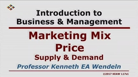 Thumbnail for entry W200_Lecture 17-Segment 1: Supply & Demand (Marketing)