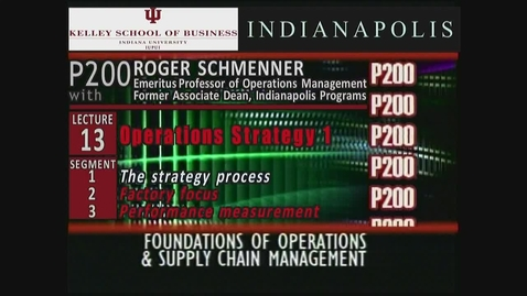Thumbnail for entry P200_Lecture 13_Segment 1: The Strategy Process