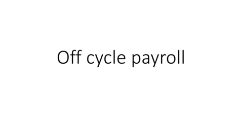 Thumbnail for entry Payroll at IU - The off cycle payroll lifecycle