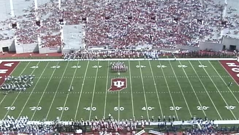 Thumbnail for entry 2004-09-25 vs Michigan State - Halftime (Band Day)