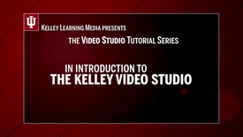 Thumbnail for entry Welcome to the Video Studio
