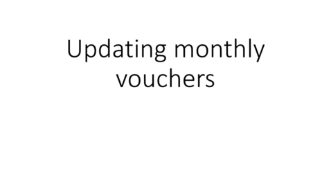 Thumbnail for entry HRMS - Updating monthly vouchers:  funding change