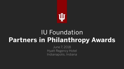 Thumbnail for entry Partners in Philanthropy Awards 2018