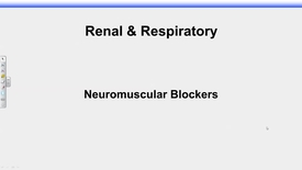 Thumbnail for entry IUSM R&R Rudick Neuromuscular Blocker - 2017 Oct 17 12:01:19