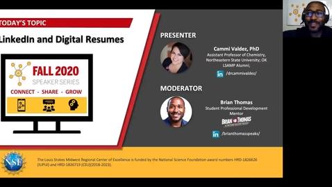 Thumbnail for entry LinkedIn and Resume Workshop