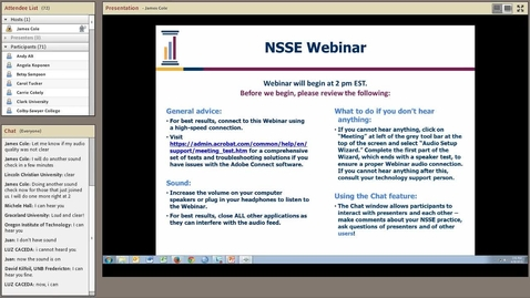 Thumbnail for entry Using BCSSE and NSSE to Help Retention Efforts