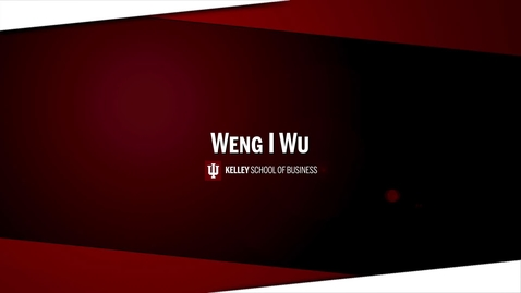 Thumbnail for entry Wu Weng I - Final Personal Brand Pitch
