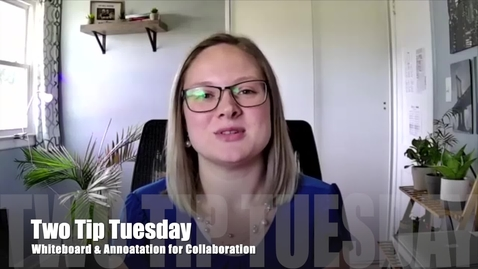 Thumbnail for entry Tip Tuesday 27 - Zoom Whiteboard