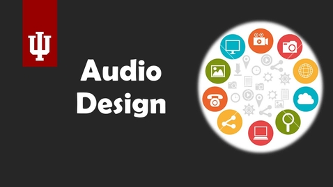 Thumbnail for entry Audio Design