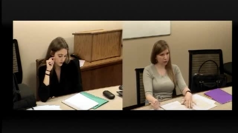 Thumbnail for entry 2017.02.14.1010 - 10342 B620 Negotiations Ardery - Alysa Feld and Audrey Sayles.mp4