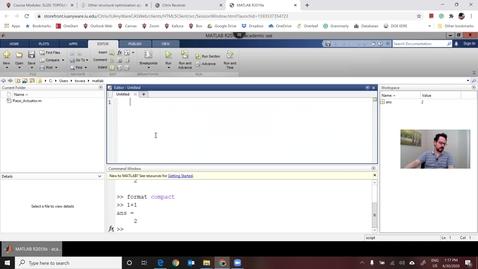 Thumbnail for entry 1D plot in Matlab