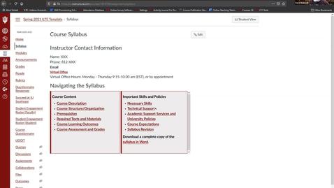 Thumbnail for entry Online Teaching Refresher Training