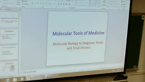 Thumbnail for entry Molecular Biology 1