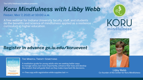 Thumbnail for entry Koru Mindfulness with Libby Webb
