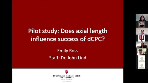 Thumbnail for entry Pilot study: Does axial length influence success of dCPC?