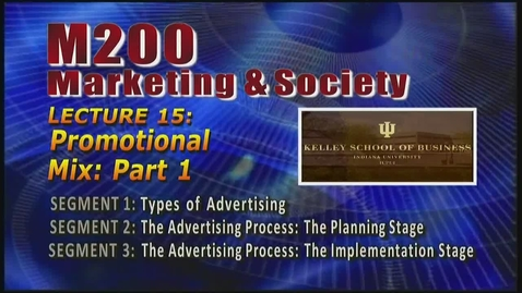 Thumbnail for entry M200 15-1 Types of Advertising