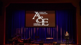 Thumbnail for entry African American Choral Ensemble Spring Concert 2019 - Wide Shot
