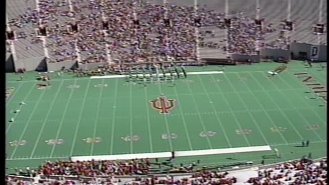Thumbnail for entry 1994-10-22 vs Northwestern - Pregame (Homecoming)