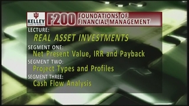 Thumbnail for entry F200_Lecture 08_Segment 1: Net Present Value & Payback