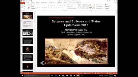 Thumbnail for entry Evv-N&B-Seizure Disorders-Dr. Jones - 2017 May 11 08:49:09