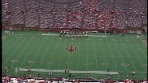 Thumbnail for entry 1992-09-26 vs Missouri - Pregame