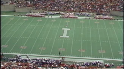 Thumbnail for entry 1985-10-05 vs Northwestern - Halftime
