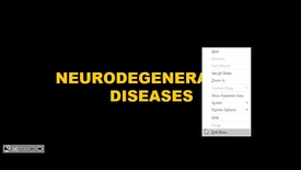 Thumbnail for entry Neurodegenerative Diseases - 2017 May 09 11:29:18