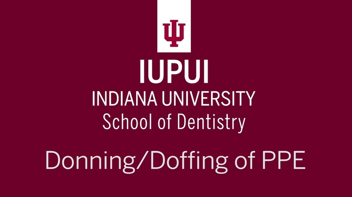 Thumbnail for channel IU Dentistry Infection Control