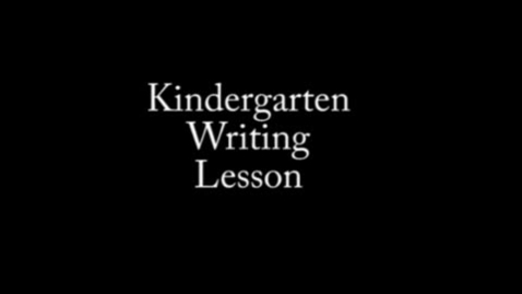 Thumbnail for entry Reading Workshop with Kindergarteners