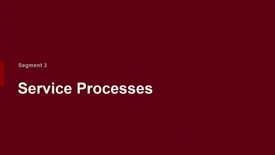 Thumbnail for entry P200 03-3 Service Processes